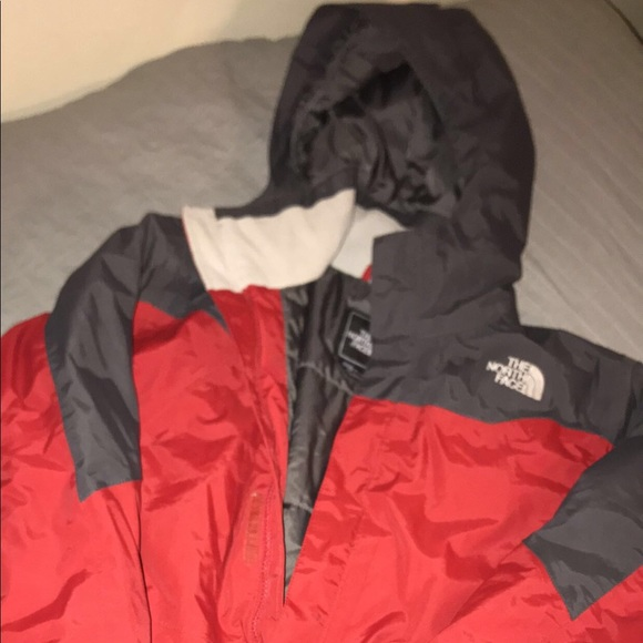 29f2a7be8 The North Face Jackets & Coats | Boys Youth Xl Red Grey North Face ...